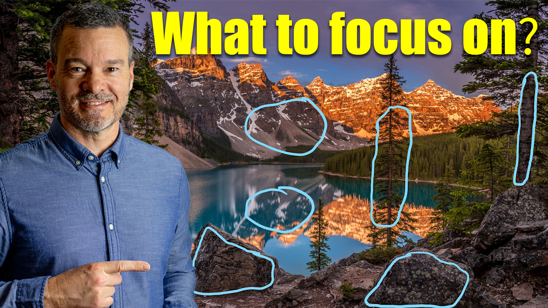 How to set the focus point