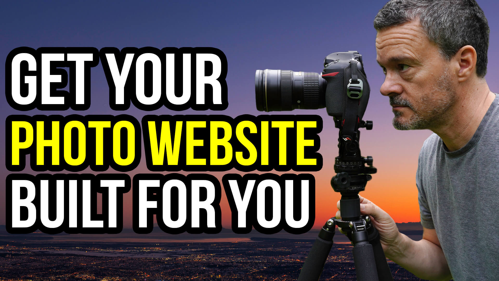 Get your photo website built for you for half price