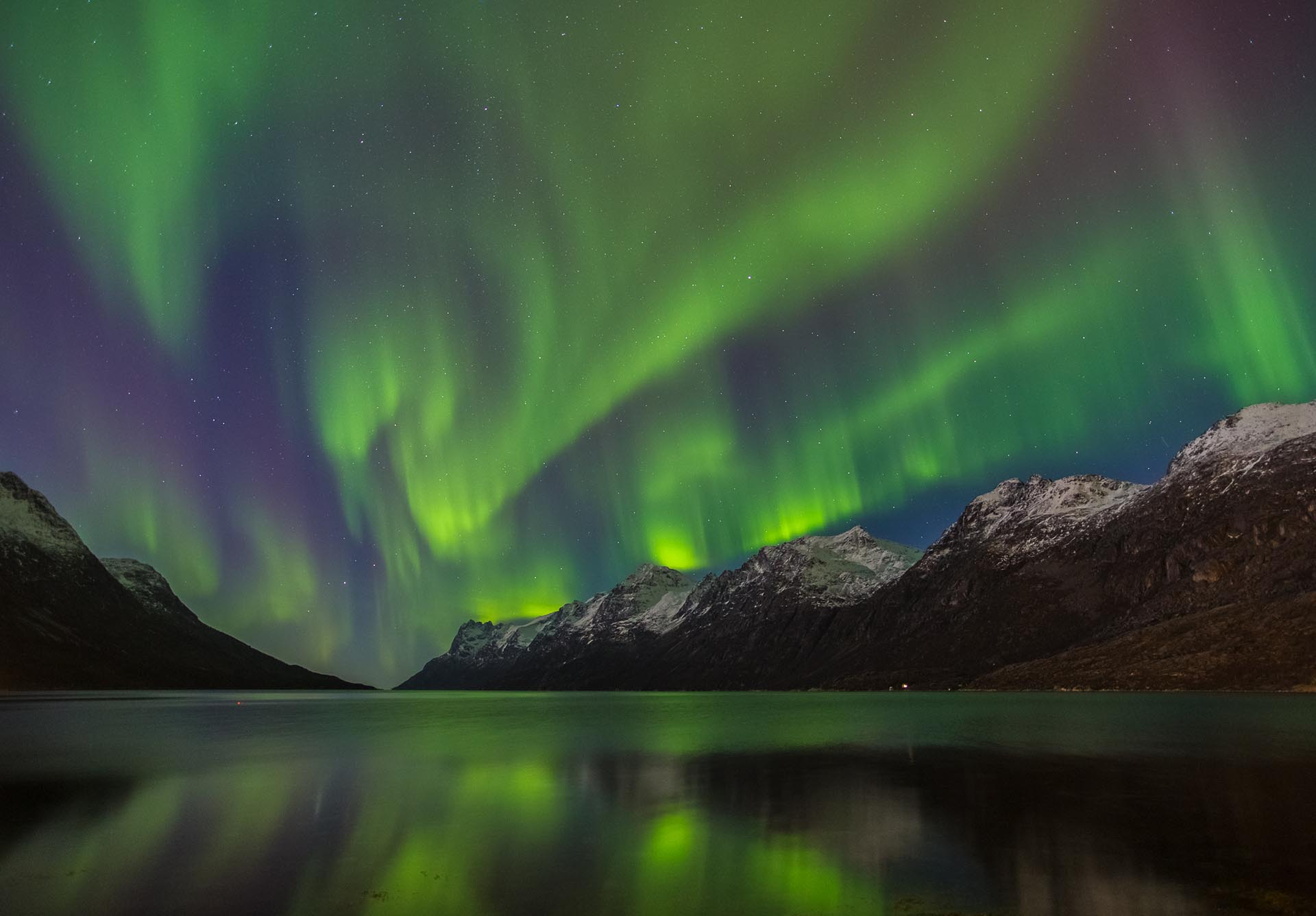 Book a trip during the right season to give yourself the best odds of capturing the northern lights