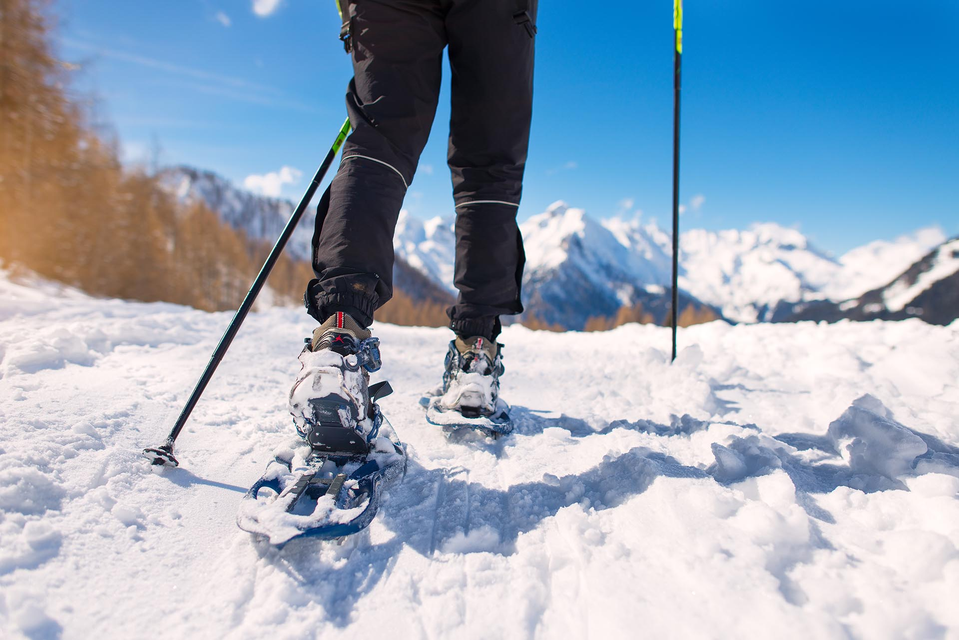 A pair of snowshoes is perfect for winter photography.